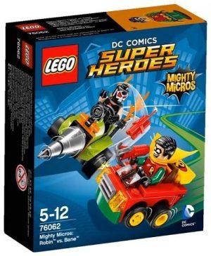 Игрушка LEGO Super Heroes Робин против Бэйна 76062