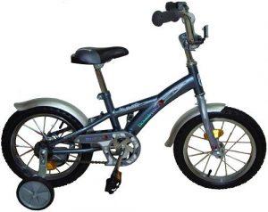 Велосипед NOVATRACK 12 Delfi серый/серебристый 124DELFI.GR5