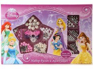 MULTIART набор бусин и жемчужин Disney Принцессы 22521
