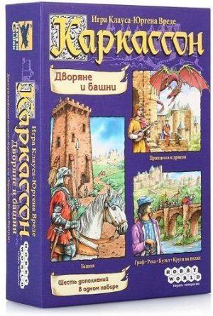 Настольная игра Каркассон Дворяне и башни 1034