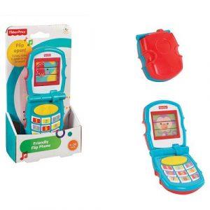 Маттел Fisher price дружелюбный раскладной телефон Y6979