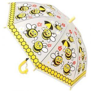 Зонт Пчелка 49 см прозр 42464
