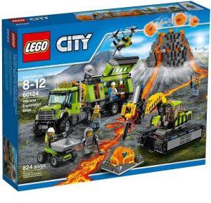 Игрушка Lego City База исследователей вулканов 60124