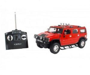 Радиоуправляемая автомодель 1/14 Hummer H2 красная RC16665