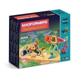 Магнитный конструктор Magformers Adventure Mountain Set 32P 703011