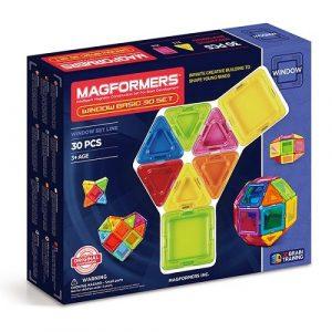 Магнитный конструктор Magformers Window Basic 30 Set 714002
