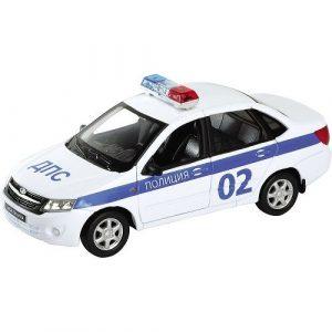 Игрушка модель машины 1:34-39 Lada Granta Полиция 43657PB