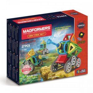 Магнитный конструктор Magformers Mini Tank Set 27P 707010