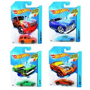 Mattel Машинки изменяющие цвет BHR15