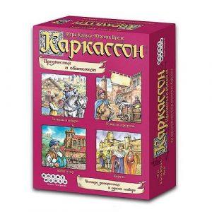 Настольная игра Каркассон Предместья и обитатели 1097