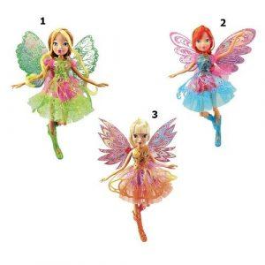 Кукла Winx Club Баттерфликс-2 Двойные крылья 3шт в ассортименте IW01251500