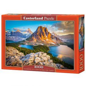 Пазл Castorland Национальный парк Банф Канада 1000 деталей С-103423