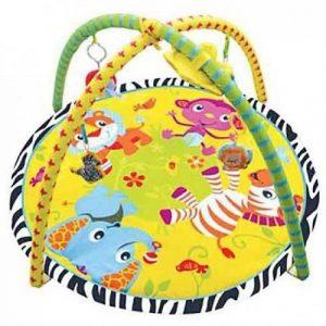 Детский игровой коврик с игрушками Веселый Зоопарк 303 1604М041