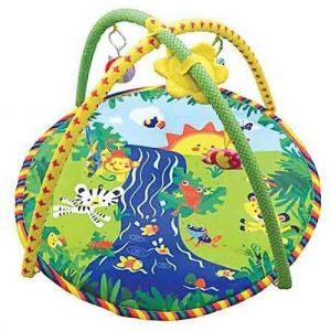 Детский игровой коврик с игрушками Веселый Ручеек 301