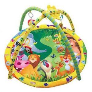 Детский игровой коврик с игрушками Сафари парк 305