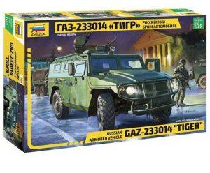 3668 Российский бронеавтомобиль ГАЗ-233014 Тигр