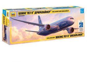 7021 Пассажирский авиалайнер Боинг 787-9 Дримлайнер