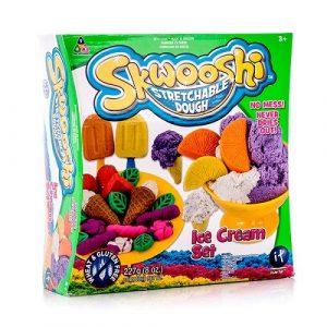 Набор для творчества Skwooshi Мороженое масса для лепки и аксессуары S30024