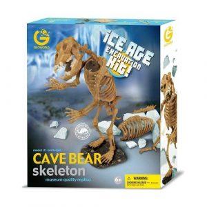 GEOWORLD Dr Steve Набор Раскопки Пещерный медведь CL1676K