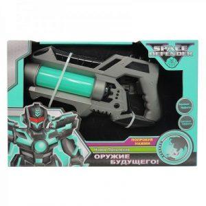 Космический пистолет 28 см с музыкой и светом и батарейкой АА 3210958