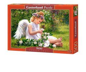 Пазл Ангел в саду 500 деталей Puzzle В-51991 Игротрейд