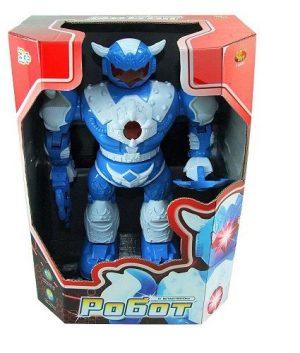 Робот эл/мех со светом и звуком с подвижными руками и ногами 21*10*31 см ТНТ
