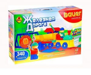 Конструктор Bauer серия Железная дорога 340эл 257