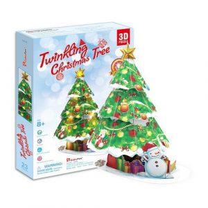 Игрушка Новогодняя елка с подсветкой P680h