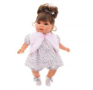 Кукла Antonio Juan Лучия в белом озвуч 37см 1557W