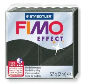 FIMO Effect полимерная глина цвет перламутровый черный 8020-907