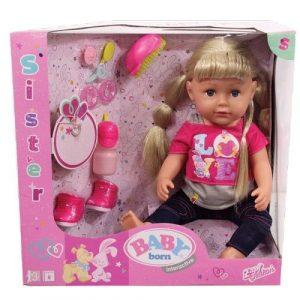 Интерактивная кукла BABY born Сестричка 43 см 820-704