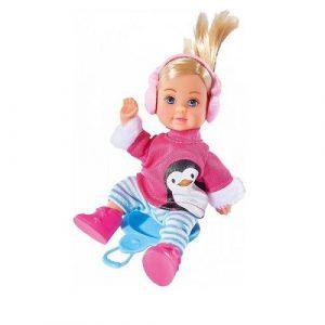 Кукла Еви в зимнем костюме 12 см 5737109