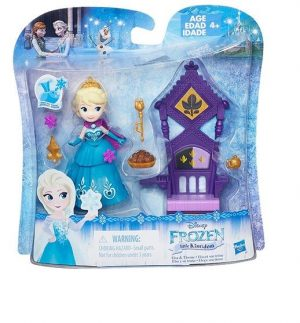 DISNEY FROZEN Игровой набор маленькие куклы Холодное сердце с аксессуарами в ассорт B5188EU4