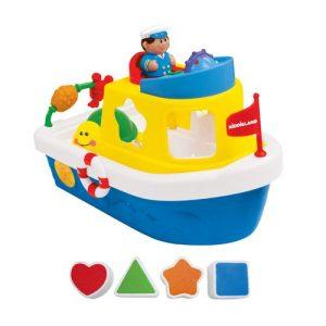 Развивающая игра Мой первый корабль сортер KID 046045