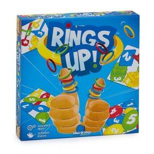 Настольная игра Разноцветные колечки Rings up
