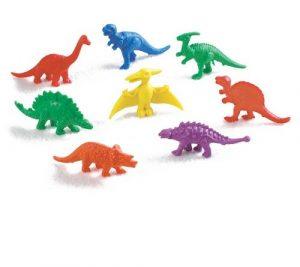 Материал счетный Фигурки Динозавры 128 шт 13036С