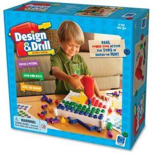 Конструктор мозаика с дрелью Design i Drill Закручивай и учись Базовый EI-4112
