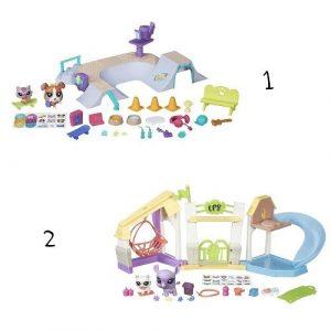 Littlest Pet Shop игровой набор Городские сценки в ассорт B5565EU4