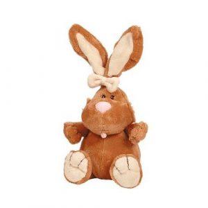 Кролик Коричневый сидячий 23см 7-42044