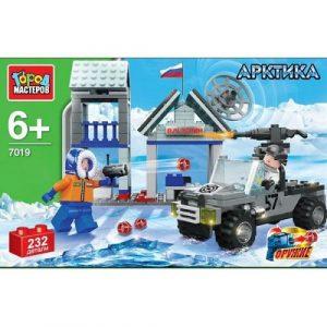 Конструктор Город Мастеров Арктическая военная база UU-7019-R