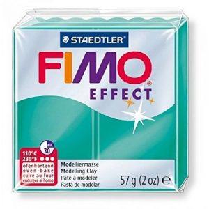 FIMO Effect полимерная глина цвет ПОЛУПРОЗРАЧНЫЙ ЗЕЛЕНЫЙ 8020-504