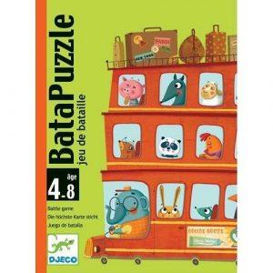 Детская наст карт игра Бата-пазл 05125