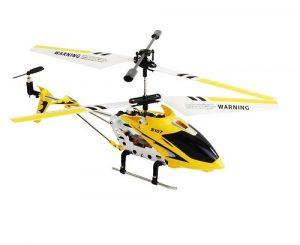 Вертолет р/у Металлический 19см S107 Gyro+USB 106117