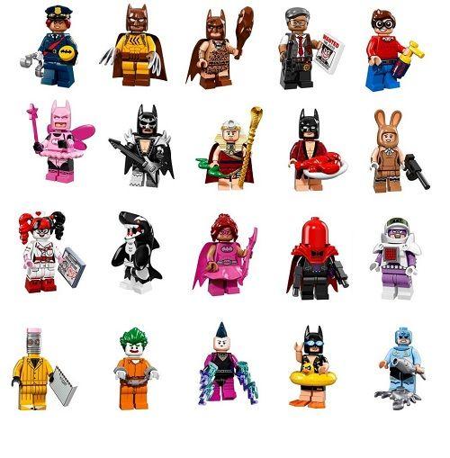 Игрушка Минифигурки LEGO 2017 версия1 71017