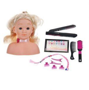 BRAUN Модель для причесок с утюжком для выпрямления волос 25 см 5245