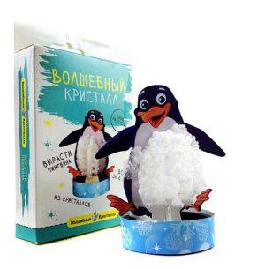 Волшебные кристаллы Пингвин cd-125