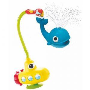 Игрушка водная душ Подводная лодка и Кит 40142