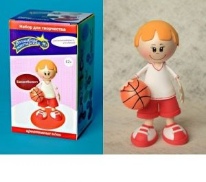 Набор для творчества Создай куклу Баскетболист К002-по