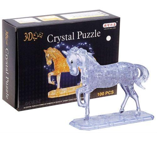 3D пазл Магический кристалл Лошадка 100 деталей 9018 6+