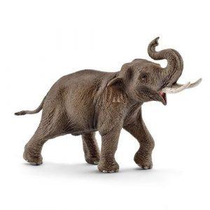 SCHLEICH Азиатский слон самец 14754